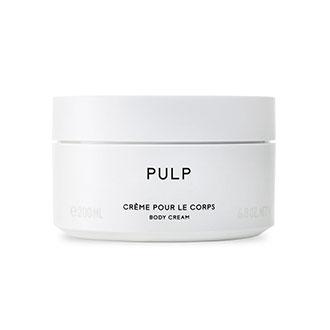 Pulp body cream