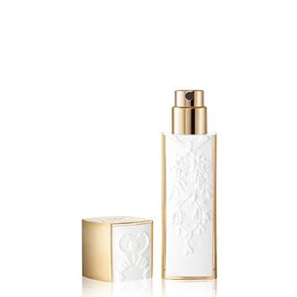 White Refillable Travel Spray