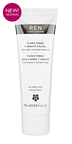 Flash Rinse 1 Minute Facial