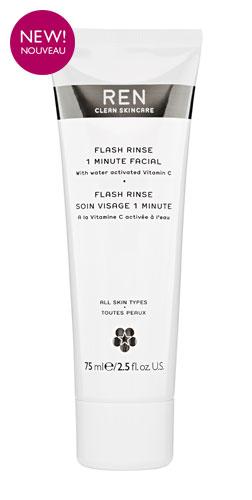 Flash Rinse 1 Minute Facial