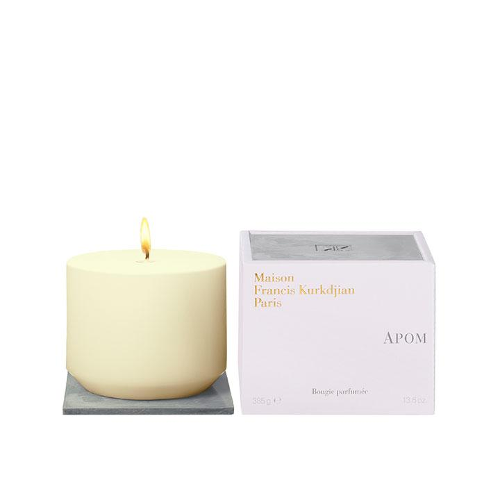 Perfumed candle APOM