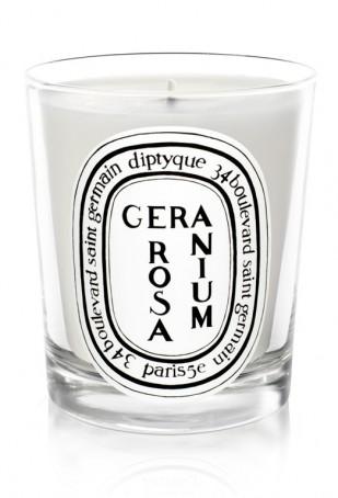 Géranium Rosa Candle
