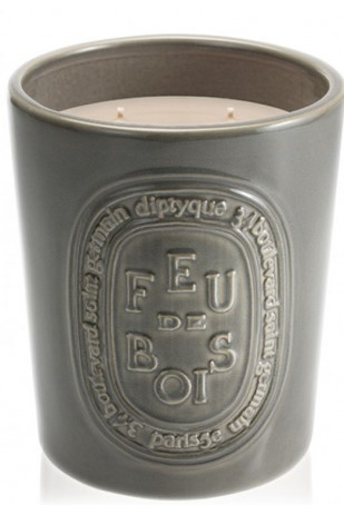 Feu de Bois Large Candle Indoor & Outdoor Edition / Firewood
