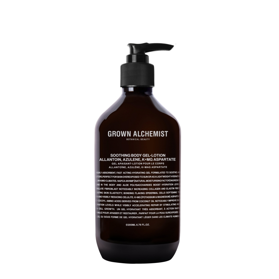 Soothing Body Gel-Lotion: Allantoin, Azulene, K+Mg Aspartate