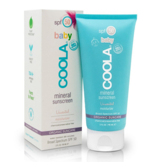 MINERAL BABY UNSCENTED SPF 50