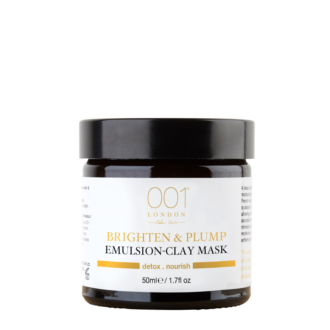 BRIGHTEN & PLUMP EMULSION CLAY MASK